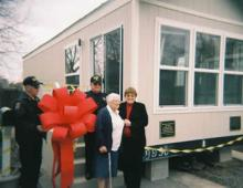Nancy Bingham lost her mobilehome due to an electrical fire in December 2006.