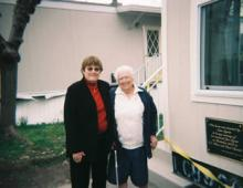 In addition to receiving assistance from the WMA Foundation, the Sigrist family presented Nancy with the key to her new home on March 9, 2007.